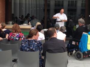 Tony O'Neill cookery demonstration