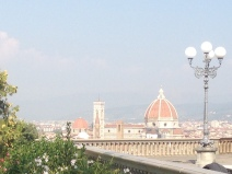 View across Florence from Piazzale Michelangelo