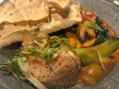 Massaman curry at District 80